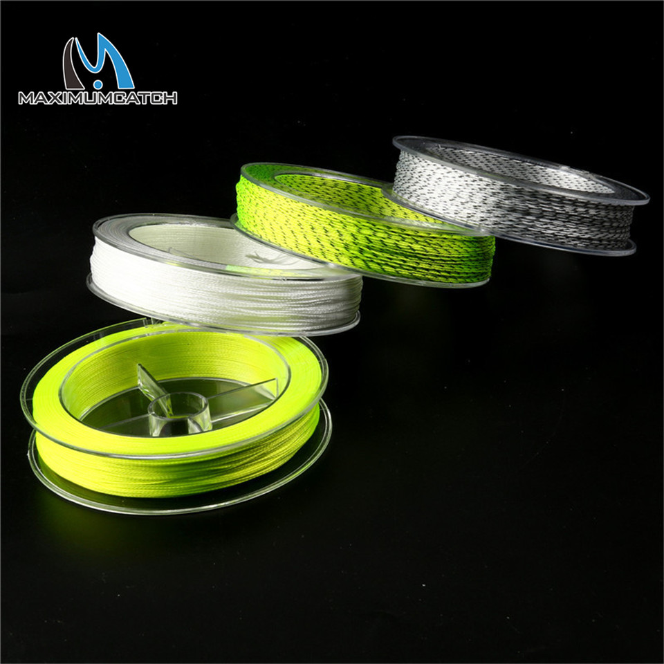 Maximumcatch fly fishing line double color backing line for 20 lb braided fishing line
