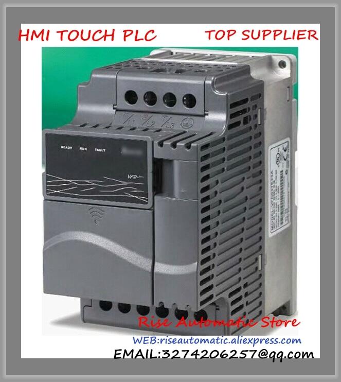 VFD-E Inverter AC motor drive VFD004E21A Delta 1 phase 220V 400W 0.5HP 2.5A 600HZ new