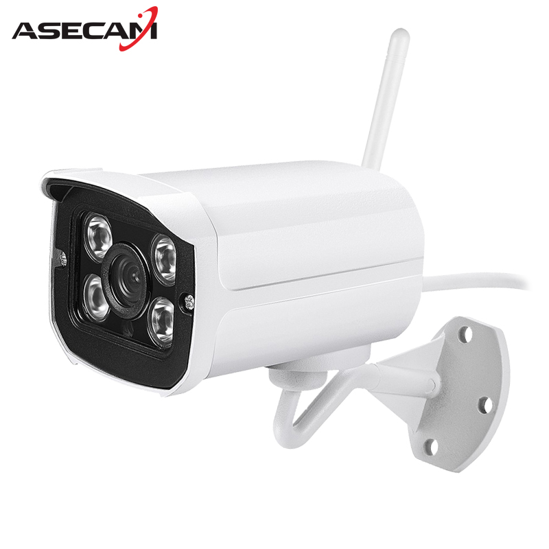 Wireless HD 720P 1080P wifi ip camera Metal Waterproof Wi-fi Onvif Array IR Outdoor CCTV Security Camera Network ipcam p2p wistino cctv camera metal housing outdoor use waterproof bullet casing for ip camera hot sale white color cover case