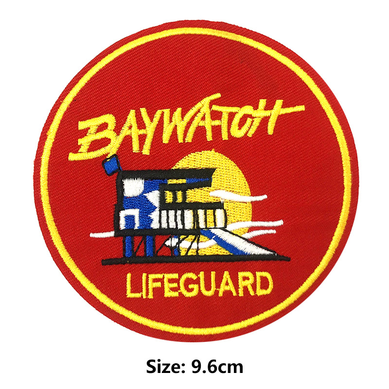THE LIFE  GUARDS  Hand  Embroidered Badge
