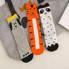 Kids Fox Socks knee high Toddler Boot Sock leg warmer Totoro socks Girl Collant enfant Children