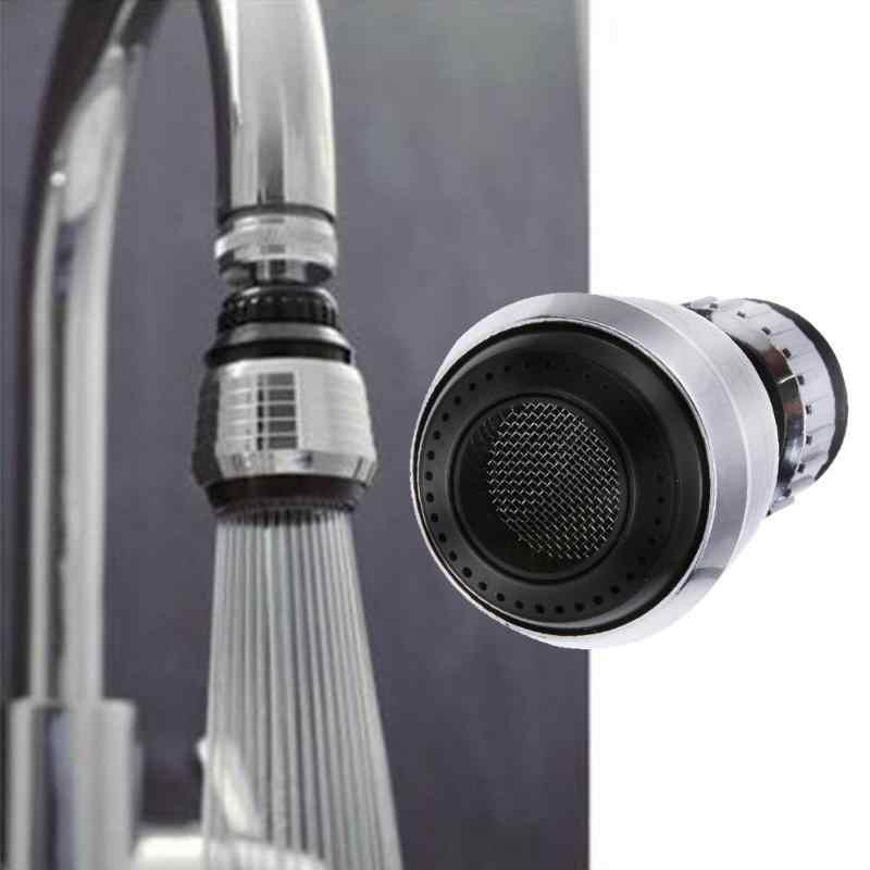 シャワースイベル節水タップエアレーターディフューザー蛇口フィルターノズルキッチン浴室コネクタアダプタ 360 度アクセサリー