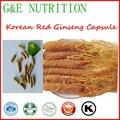 100% pure coreano red ginseng cápsula 500 mg * 200 pcs