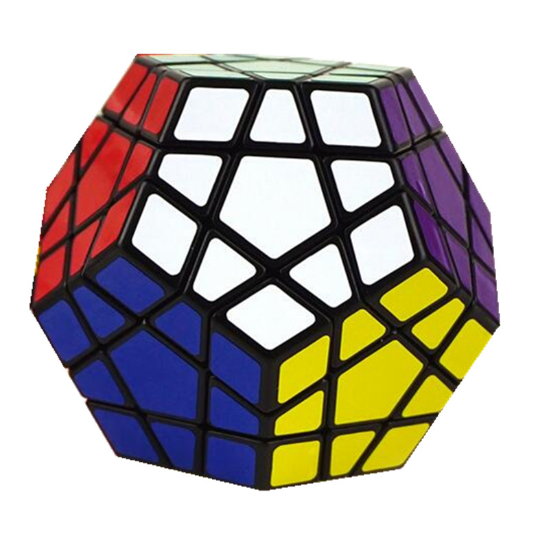 1Pcs 5 5 High Quality Megaminx Dodecahedron 12 Sided Speed Magic Cube Puzzle Educational Toys For