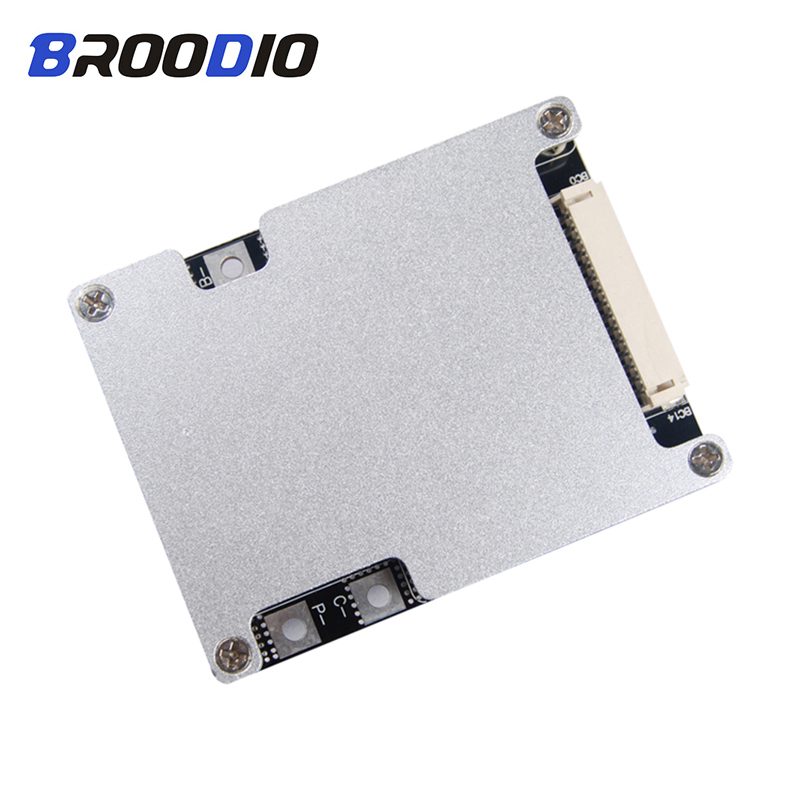 BMS 12S 14S 16S 40A 50A 80A 100A 160A Iron Lithium Battery Protection Board 18650 Charger Lifepo4 BMS 14S Circuit With Balance