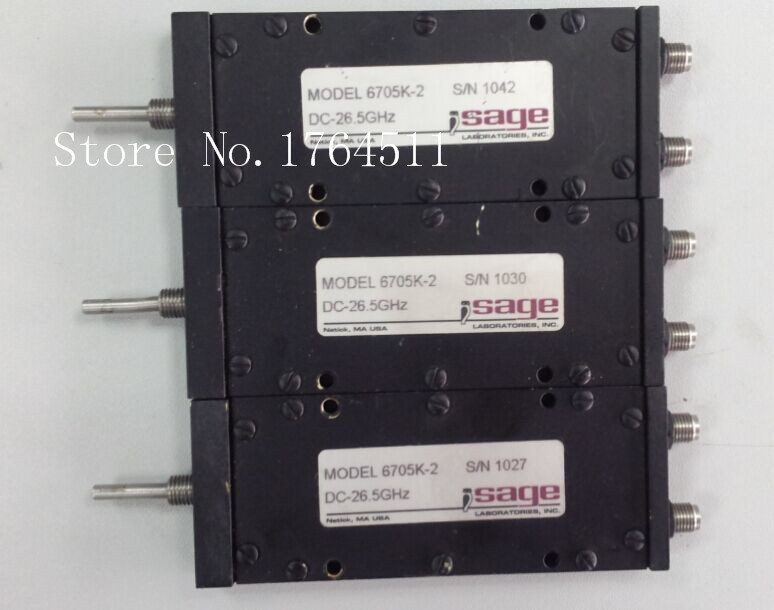 [BELLA] Sage 6705k-2 DC-26.5GHz RF High Frequency RF Variable Phase Shifter 2.92mmK Connector