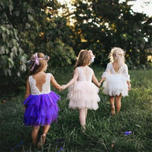 Fashion Girls Dresses 2018 Summer Pageant Dresses Baby Girl Mesh Christening Gowns Infant Princess Wedding Birthday Party Dress fashion rhinestone infant children s wedding party wear layers red white royal blue cupcake pageant dress
