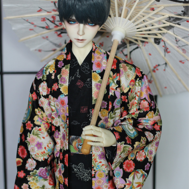 BJD doll clothes kimono bathrobes - 1/3 uncle exclusive handsome martin boots for bjd 1 3 sd10 sd13 sd17 uncle ssdf id ip eid big foot doll shoes sm9