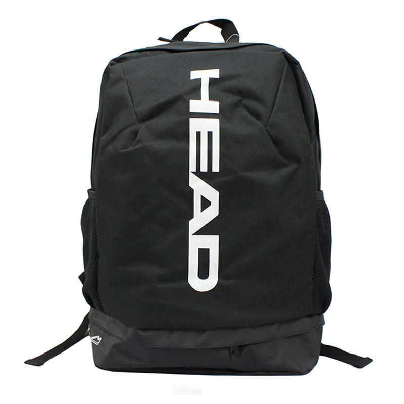 Head Tennis Racket Bag Professional Outdoor Sports Backpack Can Hold 1-2 Rackets With Breathable Independent Shoes Bag Men