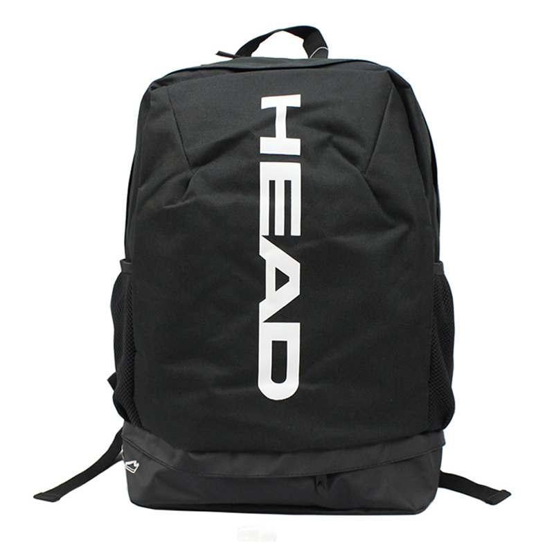Head Tennis Racket Bag Badminton Backpack Can Hold 1-2 Rackets With Breathable Independent Shoes Bag Men Women
