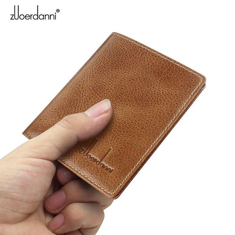 Tunna Wallet Men Små Plånböcker Kvalitet Läder Korta Purse Man - Plånböcker - Foto 2