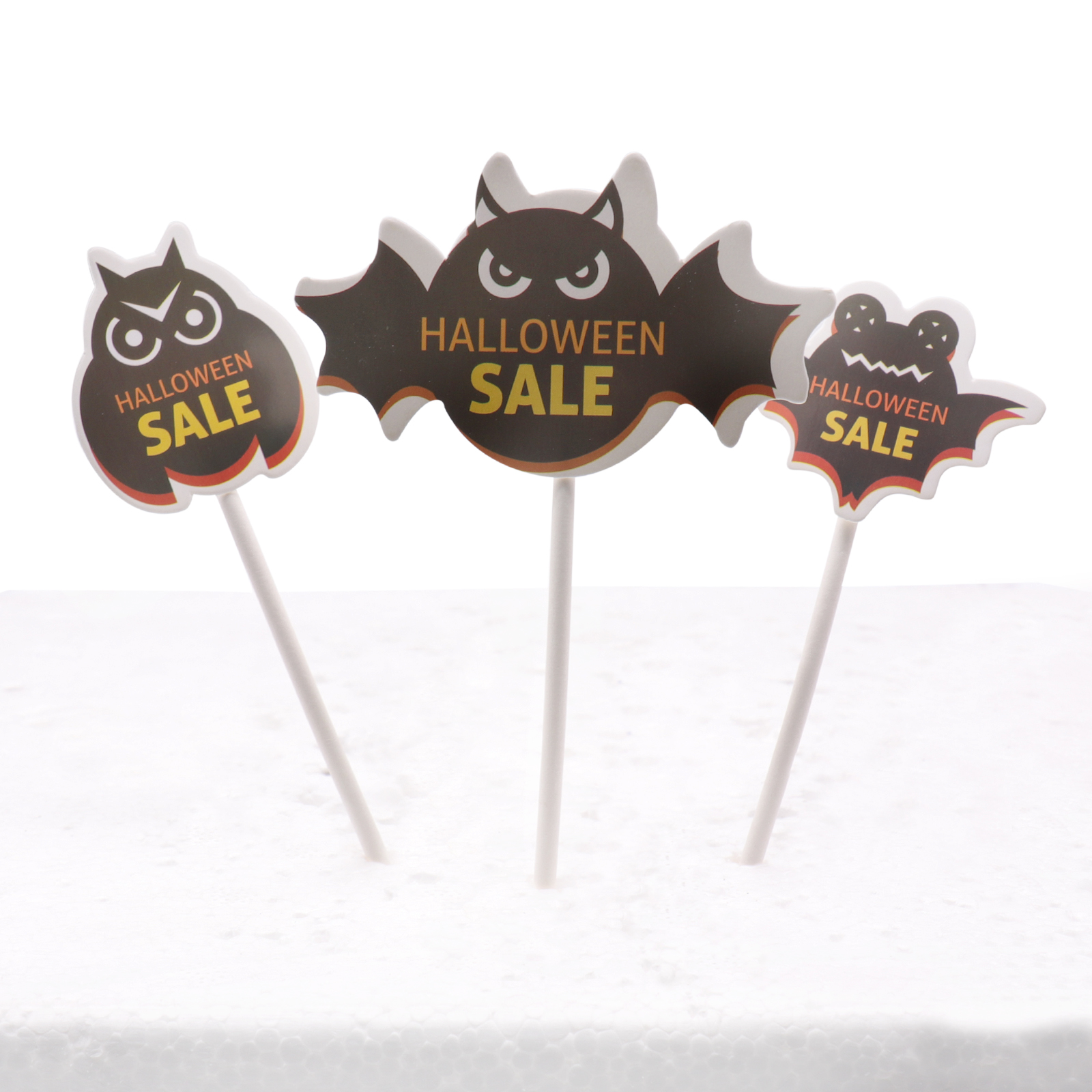 Halloween decorations Spider ,<font><b>black</b></font> <font><b>cat</b></font> ,skull ,bat ,ghost ,witch hat paper <font><b>cake</b></font> <font><b>topper</b></font> Ghost festival <font><b>cake</b></font> decorations party image