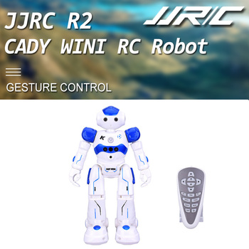 JJRC R2 CADY WINI Gesture Control RC Robots Dancing Robot Intelligent Toy Action Figure Programming USB Charging kid Gift