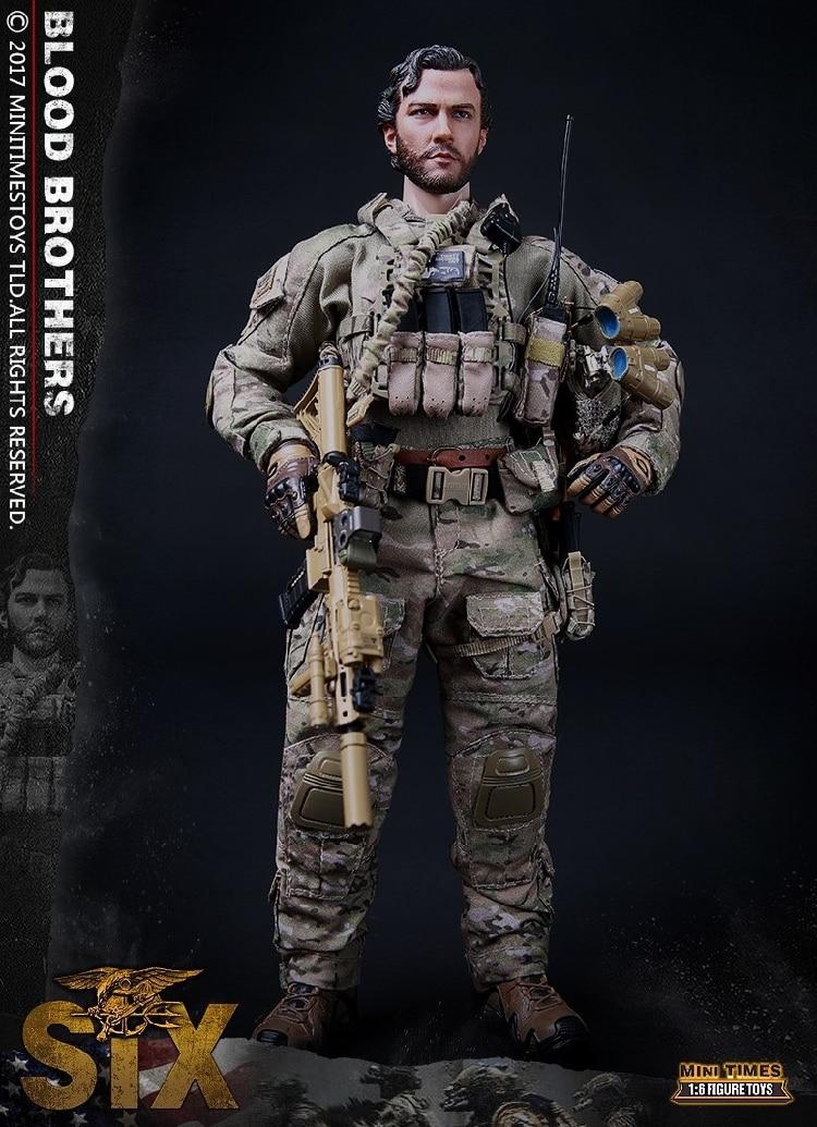 Mini Times toys MT M010 US Navy SEAL Team Six DEVGRU Boold