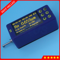 SR220 28 Parameter Small Handheld Surface Roughness Tester With ISO DIN ANSI JIS Standards Built In