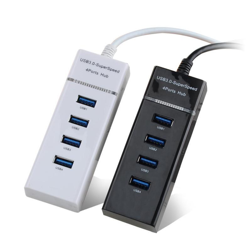 High Speed Hab 5Gbps 4 Ports USB 3.0 HUB USB Splitter Adapter Computer Peripherals Accessories For Laptop PC