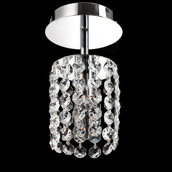 Fashion LED crystal ceiling lamp bedroom stainless steel Ceiling Lights led lamp K9 crystal led lustre light Ceiling Lights