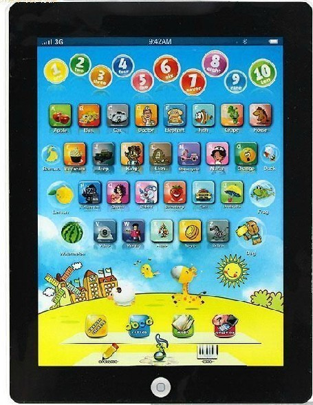 Touch screen child pre-teaching learning machine point of time machine toy early