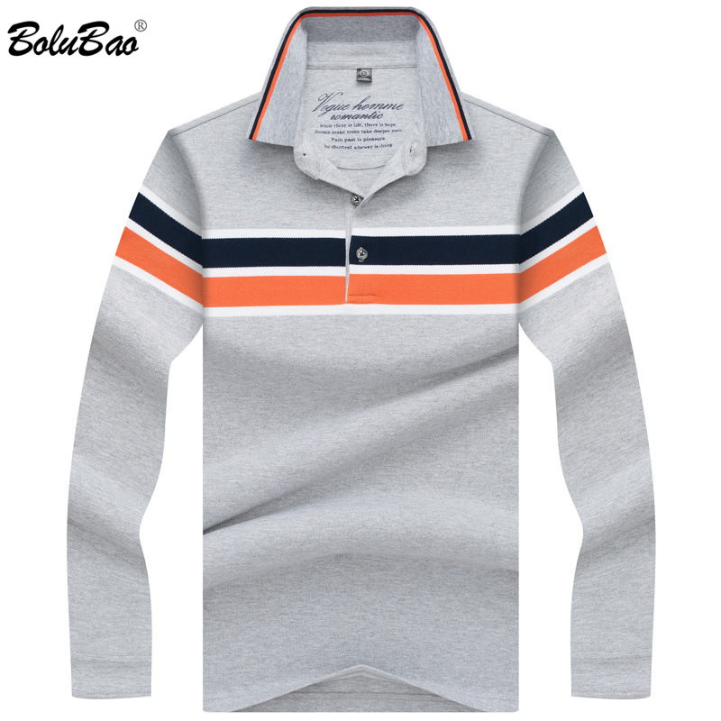 BOLUBAO Fashion Brand Men's   Polo   Shirt 2019 Spring Autumn Male Cotton Casual Long Sleeve   Polo   Top Mens   Polo   Shirts
