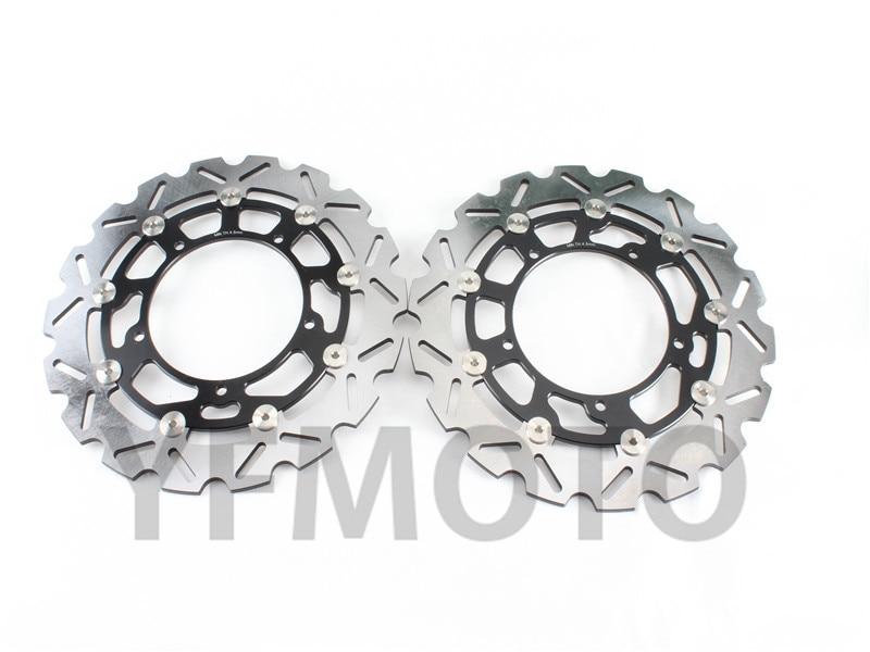 купить New Motorcycle Front Brake Disc Rotors Brake Rotor For SUZUKI GSR400 GSR600 2006-2011 GSF650 /DL650 2007-2012 GSR750 GSX650F онлайн