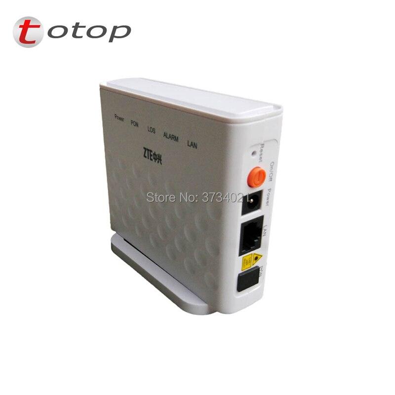 20 pçs/lote F601 ZTE ZXA10 GPON FTTH Terminal de ONT GPON onu com Porta Ethernet 1GE mesma função como F401 F643 F660