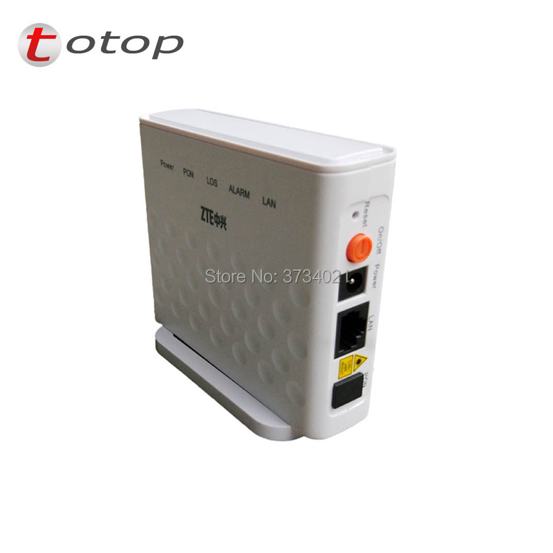 20pcs/lot F601 ZTE ZXA10 GPON Terminal ONT FTTH GPON ONU with 1GE Ethernet Port same function as F401 F643 F660