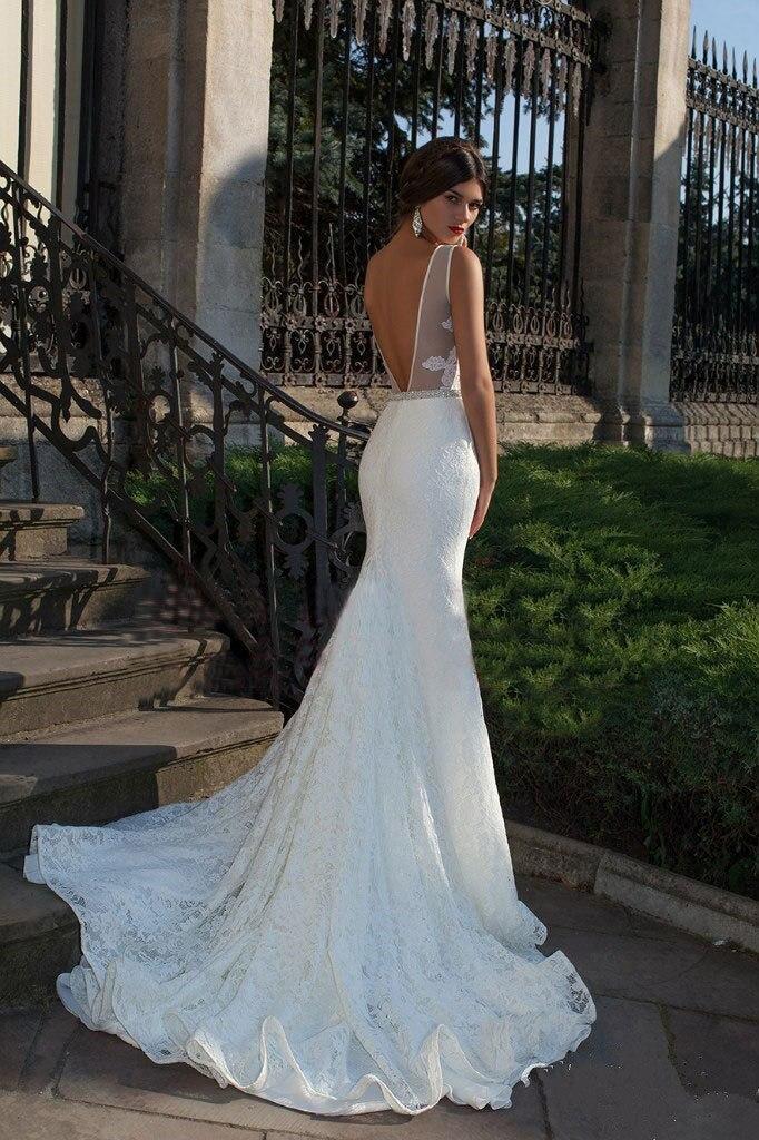Платье свадебное рыбий хвост фото