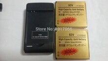 2×3030 mAh Высокой Емкости Золотая Батарея + Зарядное Устройство Для SAMSUNG GALAXY S4 I9500 i9505 GT-i9500 Bateria Batterij