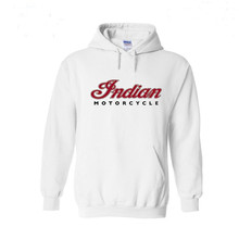 Indian Motorcycle Logo Hoodies Men Hip Hop Streetwear Hoodie Sweatshirts Off White Hooded Tops Hombre XS