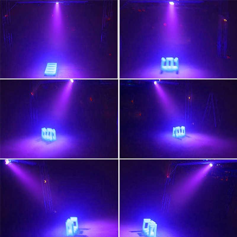 Светодиодный диско UV Ультрафиолетовый Освещение сцены DMX 512 LED сценическое освещение DJ Par-лампочка УФ фонарик для вечерние Soundlights Рождество лазерный точечный свет