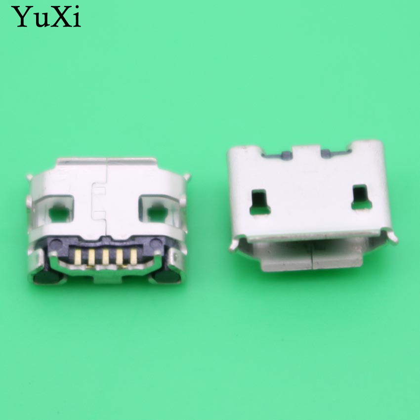YuXi Mini Micro usb jack socket connector dock plug Charging Sync Port Charger for ASUS Transformer Book T100HA T100H 100pcs 10pcs each for 10 kind micro usb 5pin jack tail socket micro usb connector port sockect for samsung lenovo huawei zte htc