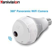 960P 1080P Wireless Panoramic IP 3D VR Camera WIFI 3MP 5MP Bulb Light FishEye Surveillance 360 Degrees CCTV Home Security Camera