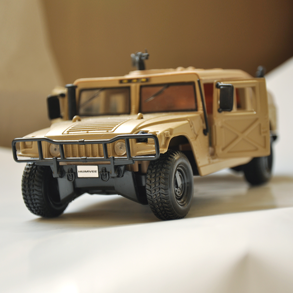 Popular hummer h1 buy cheap hummer h1 lots from china hummer h1 desert military hummer h1 wagon black 124 diecast model car by collectible alloy car vanachro Image collections