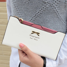 Fashion Leather Carteira Feminina Lady Purse Long Hasp Women Slim Wallets Rfid Thin Card Holders portefeuille femme