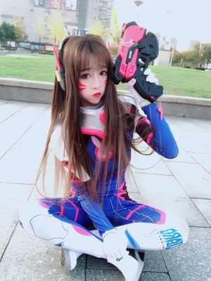 Full Set D.VA Costume Gun Headset Armour 3D Print Classic Skin Bodysuit Halloween Cosplay dva Zentai Catsuit Custom Kids Adult
