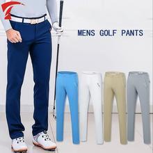 a1e1b2cee4 2019 Verão calças Dos Esportes Dos Homens de golfe de alta-elástico fino  Calças De