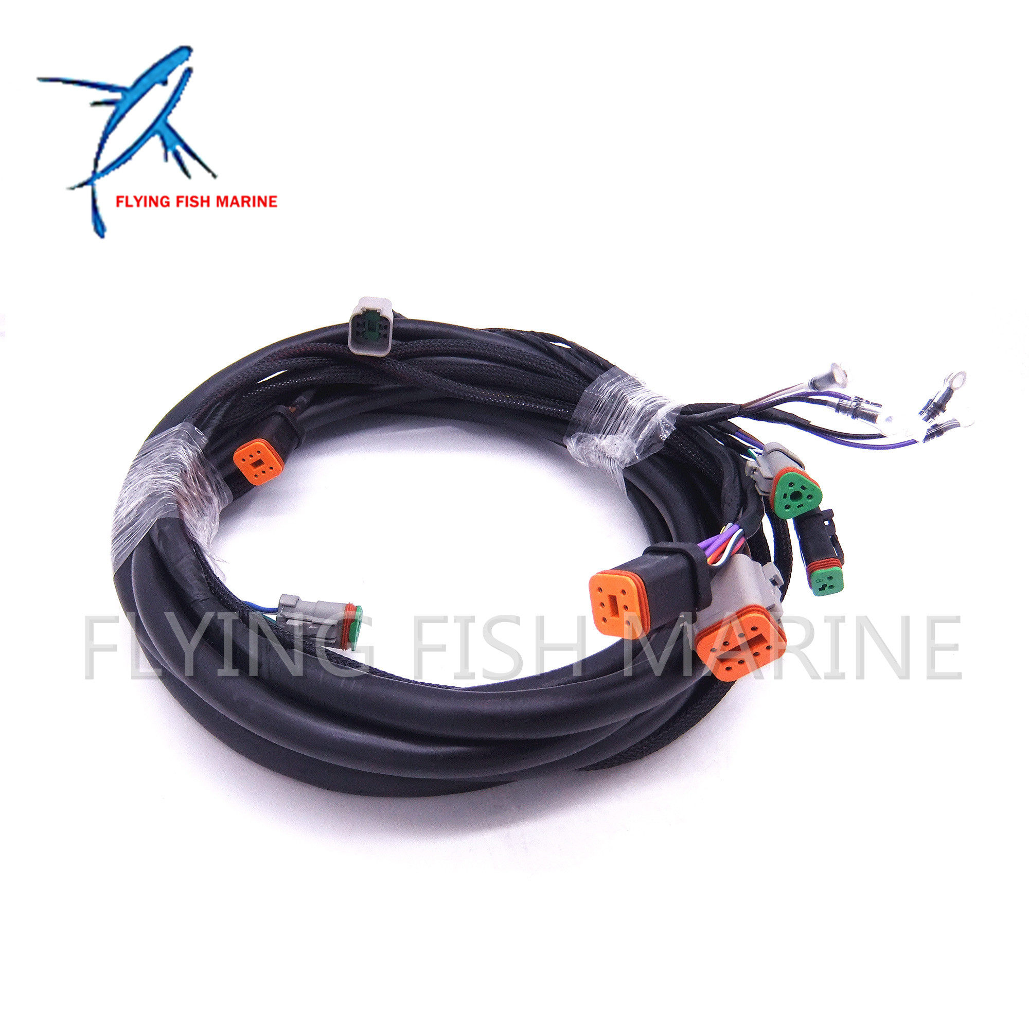 Outboard Motor 0176340 176340 SystemCheck 15ft Main Modular Ignition Wiring  Harness Cable for Evinrude Johnson OMC Free Shipping-in Boat Engine from ...