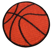 Custom embroidered Patches Basketball Sport Applique Iron Sew ON Patch can be customized factory direct  promotional gifts
