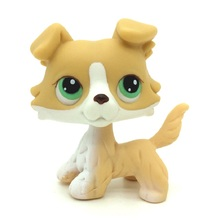 Real Pet Shop Lps Toys Collections Standing Short Hair Cat White Tabby Black Dachshund Dog Collie Great Dane