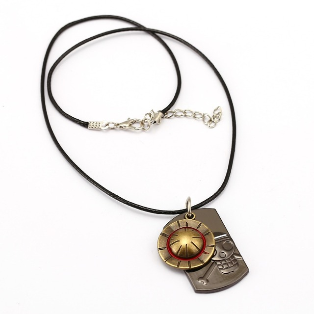 One Piece Luffy Hat Pendant Necklace