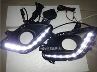 for Mazda 6 M6 ATENZA 2013 2014 LED DRL Daytime running light Fog lamp with dimmer function Super bright Top quality