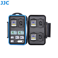 JJC Résistant à L'eau Caméra Carte Mémoire Cas 6 SD, 6 TF, 2 SIM, 2 Micro SIM, 2 Nano SIM Cartes Compact Difficile Boîte De Rangement