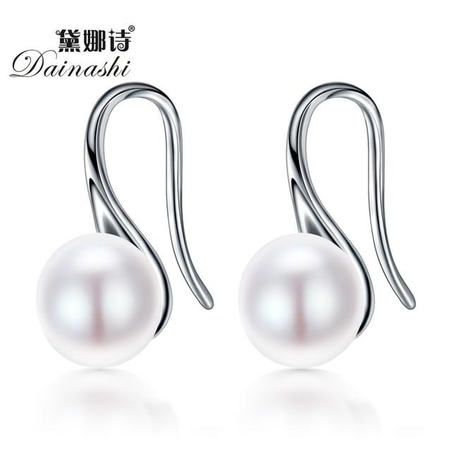 Dainashi the latest 100% natural freshwater 8-8.5mm white pink purple pearl roun