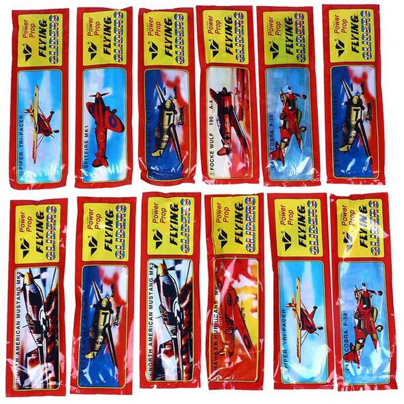50Pcs/Set DIY Flying Glider Plane Children Model Boy Girl Educational Toys Foam Vehicles For Kids Birthday Christmas Gift