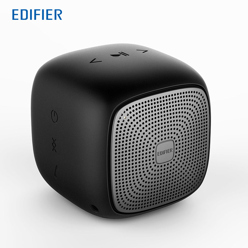 EDIFIER MP200 Mini Portable Wireless Bluetooth Speaker Super Bass Loudspeakers with waterproof+ SD Card function for smartphone gaciron bike speaker mini accoustic super bass outdoor bluetooth sports speaker portable rechargeable wireless 4g micro sd card sub woofer speaker