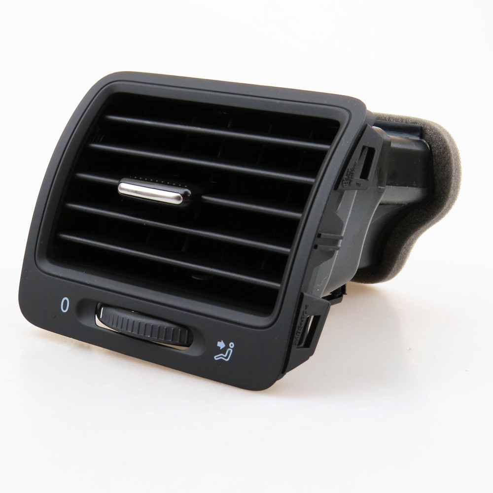 TUKE For VW Rabbit Jetta MK5 Golf 5 Right Dashboard Air Conditioning Exhaust Ventilation Outlet Vents 1KD 819 704 1K0 819 710 2017 car dashboard console central air conditioning ventilation grille air outlet trim for vw jetta 4 bora mk4 1998 2005