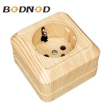 Настенное настенное гнездо SCHUKO, 250 В, 16A, настенное зарядное устройство, адаптер, деревянная цветная розетка, legrand Schneider, 2019