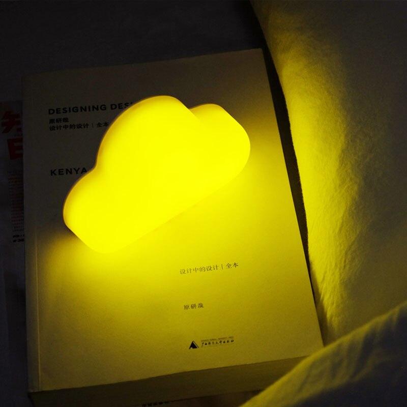 2018 Nowa nowość Cloud Nightlight Mała lampka nocna Aktywowana - Lampki nocne - Zdjęcie 2