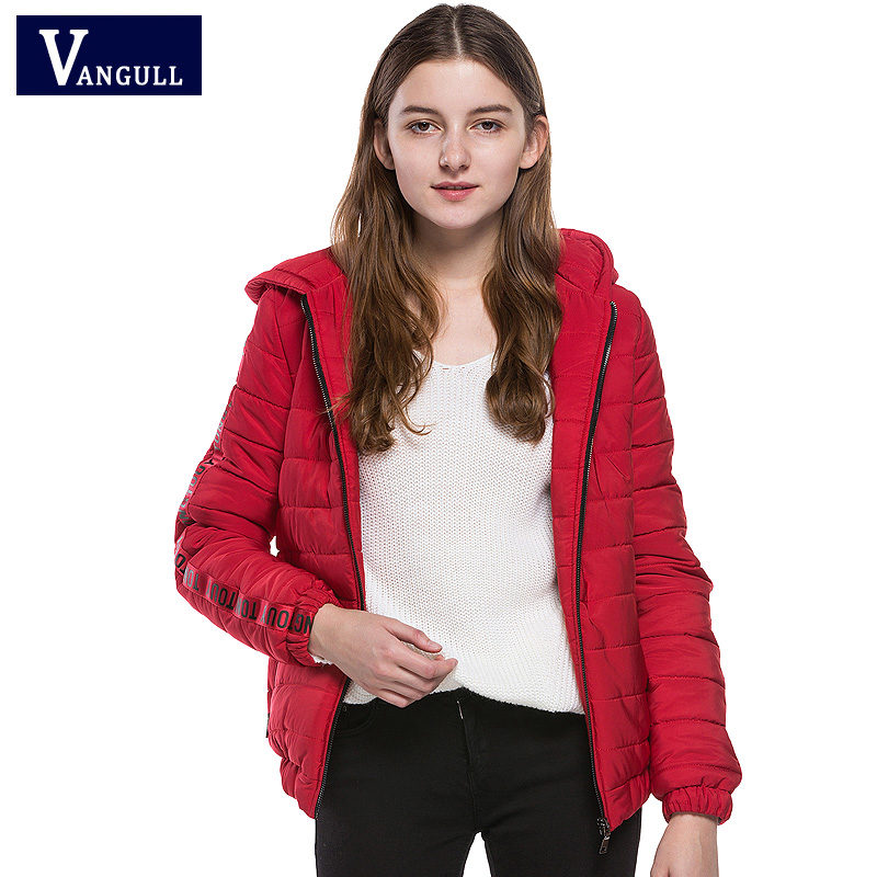2017 new winter hot-sell woman England style coat fashion   casual short lady thick Christmas red color stripe warm parkas aidocrystal heart shape factory direct sell fashion woman diamond clutch for lady