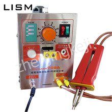 110V Pulsed Lithium Battery Spot Welding Machine Battery Moving Spot Welding Pen Electric Iron With LED Lighting 1500W One-piece power 788h 788 tow in one micro computer spot welding